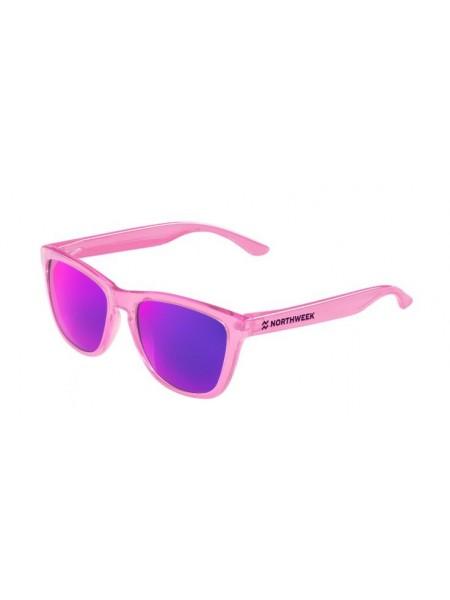 Gafas de sol  Northweek bright pink / lente purple polarizadas