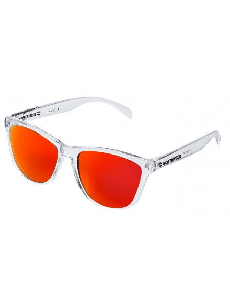 Gafas de sol creative Northweek bright / white/ lente roja polarizadas