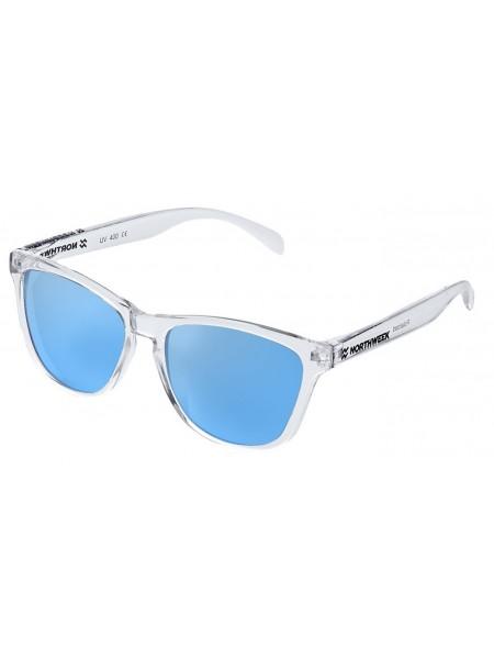 Gafas de sol creative Northweek mate / white/ lente azul cielo polarizadas