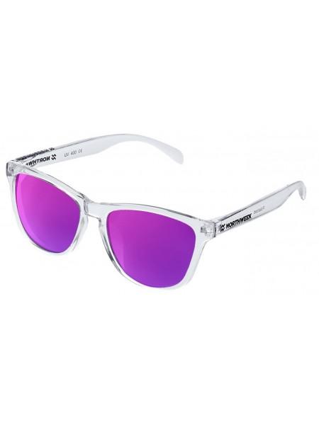 Gafas de sol creative Northweek bright / white/ lente violeta polarizadas