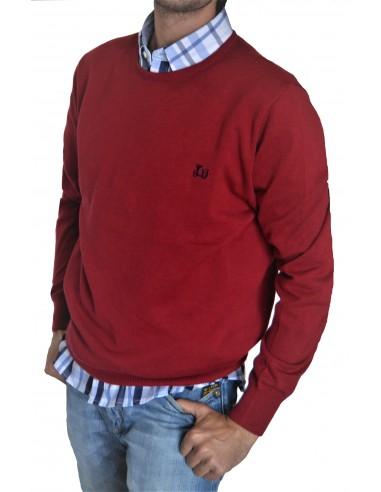 """Jersey de algodón Ridebike """" la vespa"""" color burdeos"""