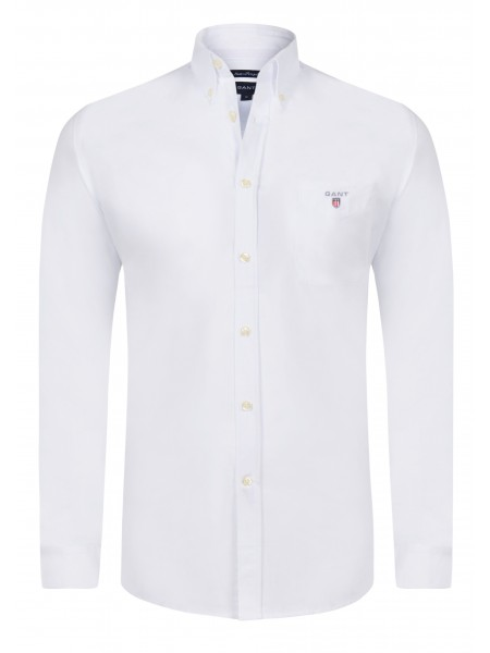 Camisa lisa con bolso Gant New Haven en color blanca