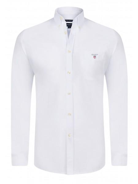 d403af9e034fd Camisa lisa con bolso Gant New Haven en color blanca