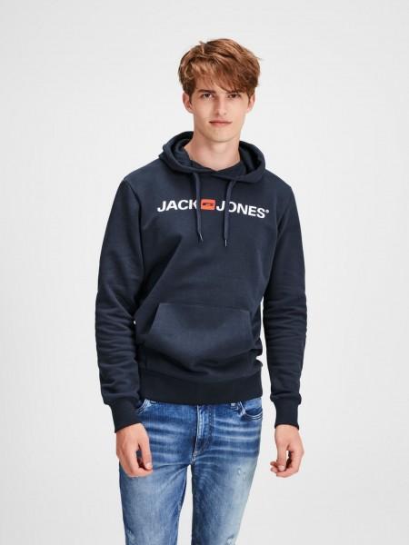 Sudadera con capucha Jack and Jones  en color azul marino
