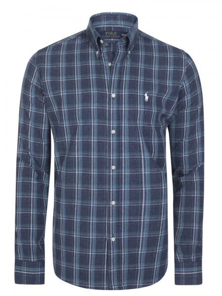 Camisa de cuadros Ralph Lauren en tonos azules