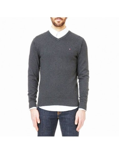 Jersey Tommy Hilfiger hombre Pacific color dark gris