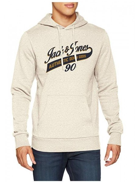 Sudadera con capucha Jack and Jones  en color white melenge