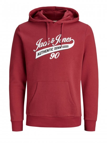 Sudadera con capucha Jack and Jones  Denim Brick Red