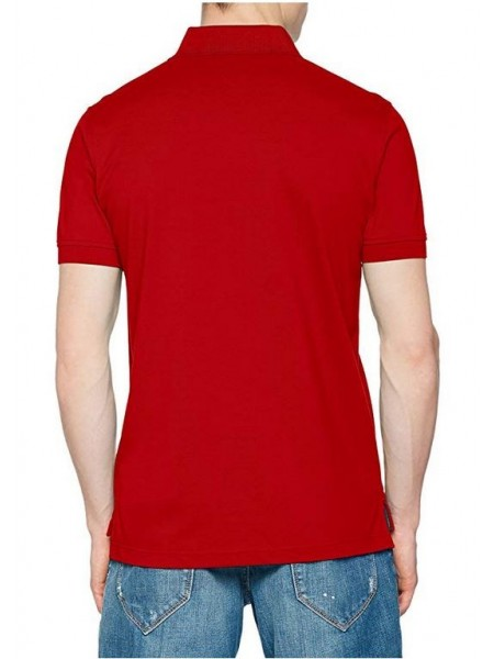 Polo Tommy hilfiger hombre slim fit rojo