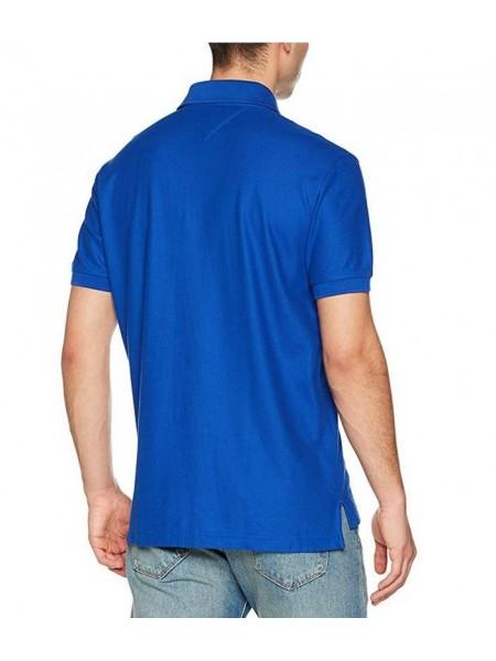 Polo Tommy hilfiger hombre slim fit color azul royal