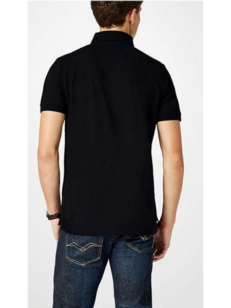 Polo Tommy hilfiger hombre slim fit color negro