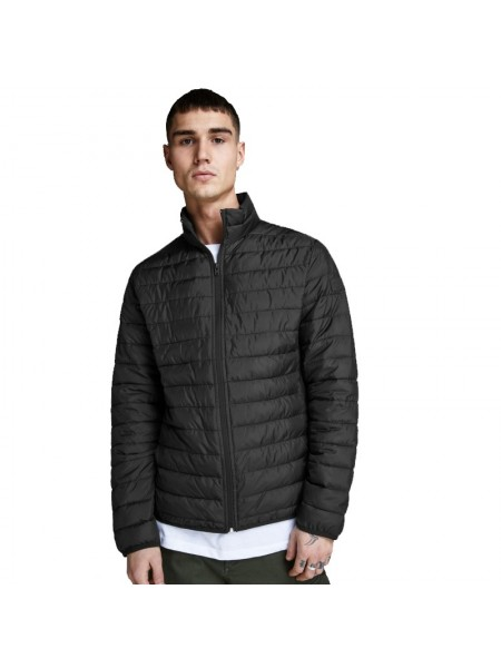 Jack and Jones Cazadora acolchada de entretiempo color negra