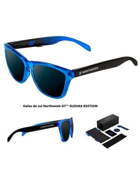 new 2018 | Gafas de sol  Northweek GT SUZUKA EDITION - lente negra polarizada