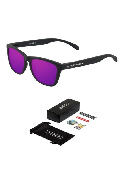 Gafas de sol creative Northweek mate/black lente purple
