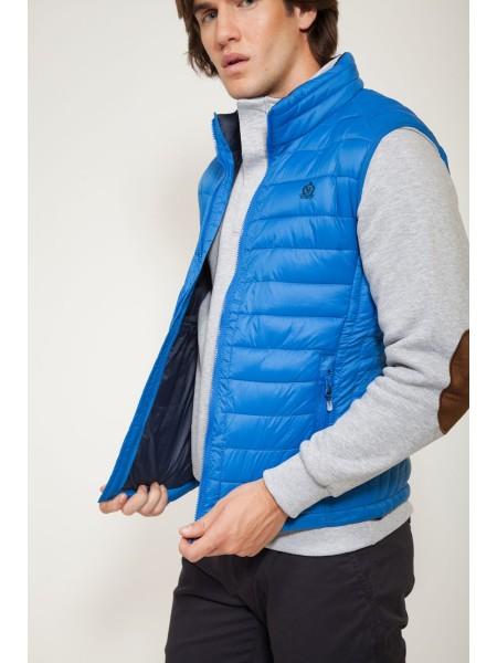 CLK 1952 hombre Chaleco acolchado modelo Vest Azul Royal