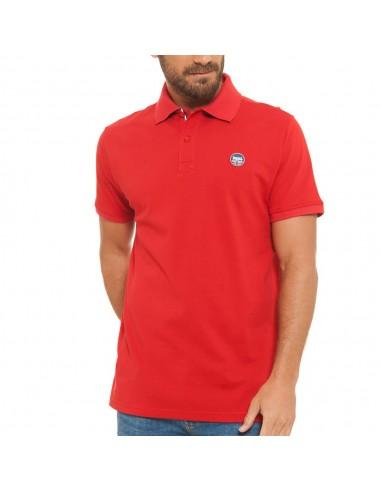 Polo Lonsdale hombre color  rojo