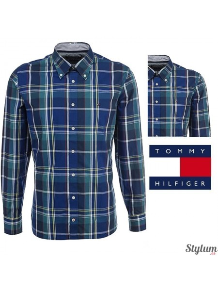 Camisa Tommy  Hilfiger hombre Tamber CHK CF2