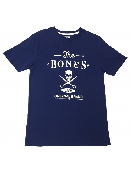 Camiseta BONES en color azul