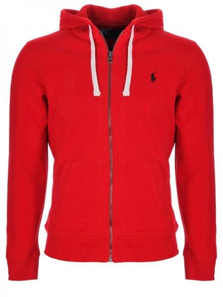 Sudadera con caputa Ralph Lauren en color rojo