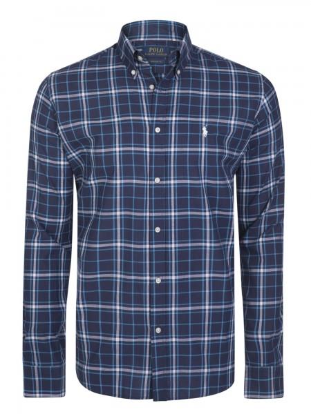 Camisa de cuadros Ralph Lauren hombre en tonos azules