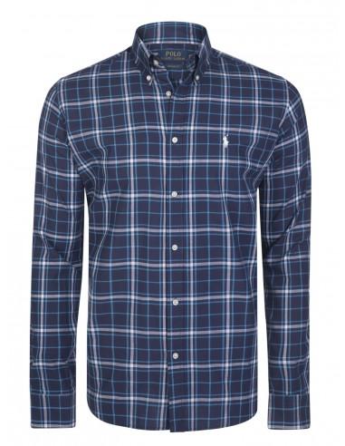 6b8827cab2399 Comprar camisa de cuadros Ralph Lauren Hombre en tonos azules