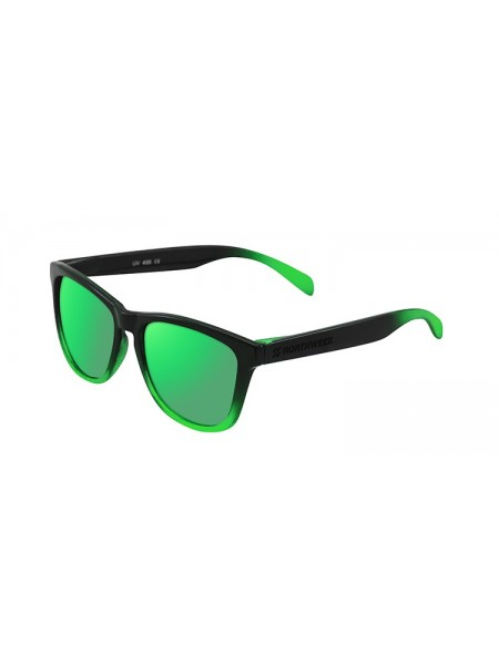 Gafas de sol Northweek GRADIANT SHINE BLACK & green polarizada